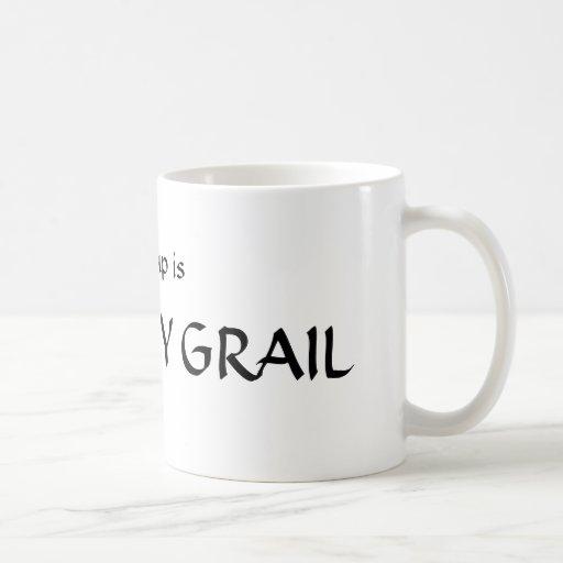 El santo grial taza de café