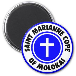 El santo Marianne hace frente de Molokai Imán De Nevera