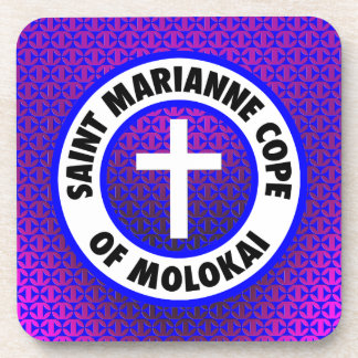El santo Marianne hace frente de Molokai Posavasos De Bebida
