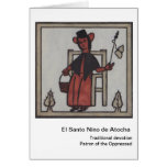 EL Santo Nino de Atocha Card Tarjeton