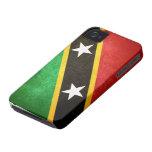 El santo San Cristobal/Nevis señala por medio de u Case-Mate iPhone 4 Cárcasa