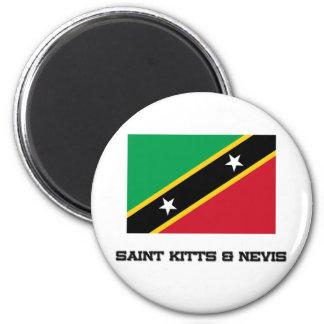 El santo San Cristobal y Nevis señala por medio de Iman De Frigorífico