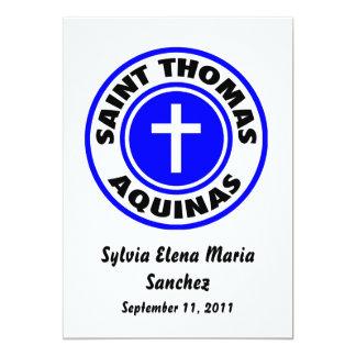 El santo Tomás de Aquino invita Comunicado