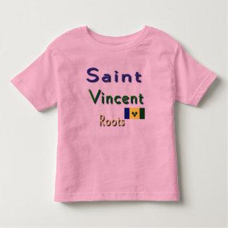 El santo Vincent arraiga las camisetas Remera