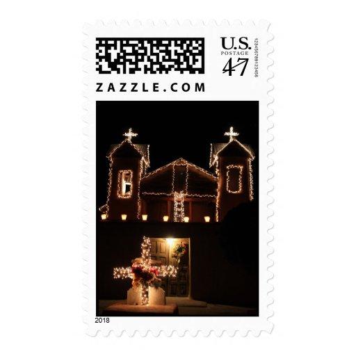 El Santuario de Chimayó Timbres Postales