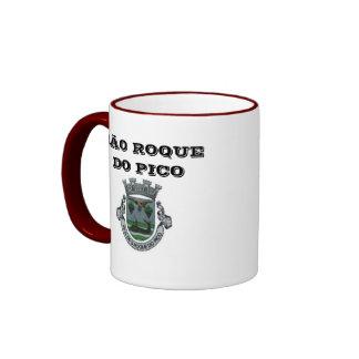 El sao Roque hace la taza de café de Pico