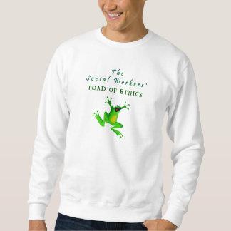 El sapo de los asistentes sociales de los éticas suéter