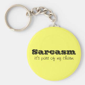 El sarcasmo es parte de mi llavero del encanto