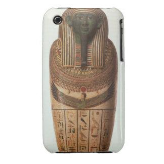 El sarcófago de Psamtik I (664-610 A.C.) tarde por iPhone 3 Protector
