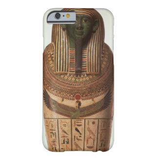 El sarcófago de Psamtik I (664-610 A.C.) tarde por Funda De iPhone 6 Barely There