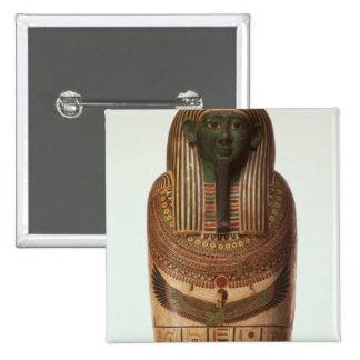 El sarcófago de Psamtik I (664-610 A.C.) tarde por Pin