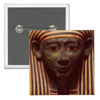 El sarcófago del detalle de Psametik (664-610BC) d Pin