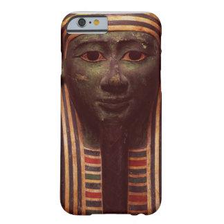 El sarcófago del detalle de Psametik (664-610BC) Funda De iPhone 6 Barely There