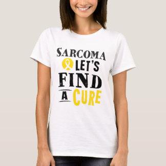 El sarcoma deja para encontrar una camiseta de la