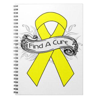El sarcoma encuentra una cinta de la curación libretas