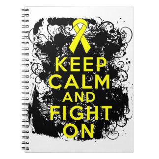 El sarcoma mantiene tranquilo y la lucha On.png Libretas Espirales