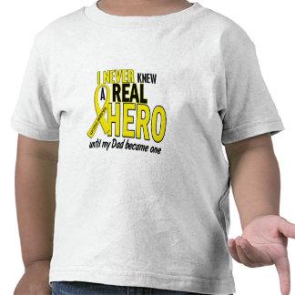 El sarcoma NUNCA CONOCÍA a un papá del HÉROE 2 Camisetas