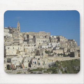 El Sassi de Matera, Italia Alfombrillas De Ratones