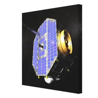 El satélite interestelar del explorador del límite impresión en lienzo estirada