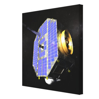 El satélite interestelar del explorador del límite impresión en lona estirada