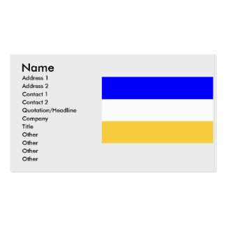 El Sauce, El Salvador, El Salvador Business Card Template