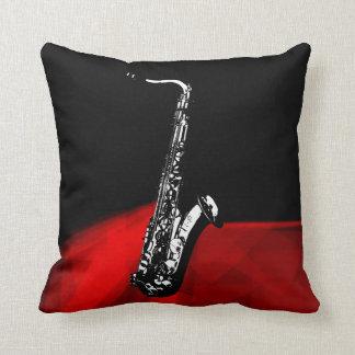 El saxofón cojines