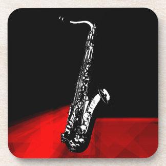 El saxofón posavaso