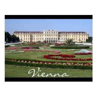 el schönbrunn cultiva un huerto Viena Tarjeta Postal