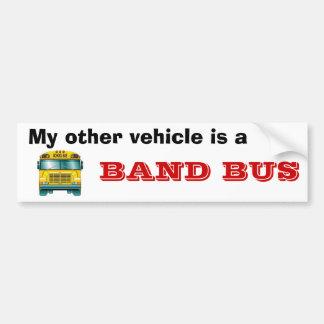 el school_bus, mi otro vehículo es a, AUTOBÚS de l Pegatina Para Auto