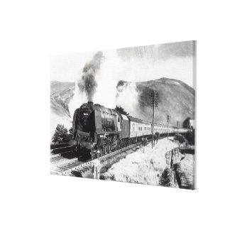 El Scot real, locomotora interurbana Impresion En Lona