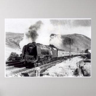 El Scot real, locomotora interurbana Póster