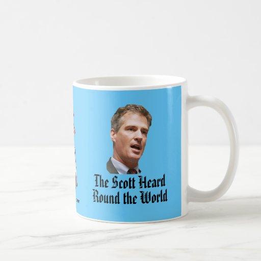 El Scott oyó alrededor del mundo Tazas De Café