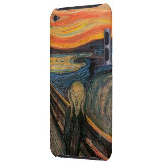 El Scream iPod Touch Case-Mate Cobertura