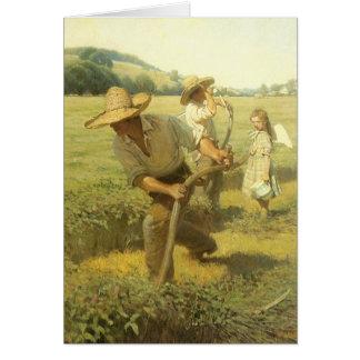 El Scythers (de nuevo a la granja) por NC Wyeth Tarjeta De Felicitación
