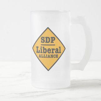 El SDP Alliance liberal firma Taza De Cristal
