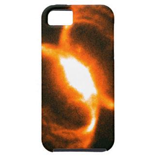 él se centra de la nebulosa de cangrejo meridional funda para iPhone 5 tough
