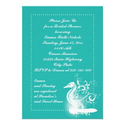 El seahorse blanco lightseagreen casando la ducha  anuncios