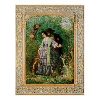 El secreto, 1858 tarjeta postal