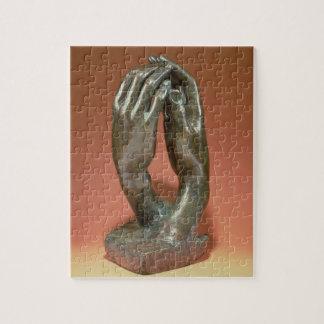 El secreto, c.1910 (bronce) (véase también 167161) rompecabezas con fotos