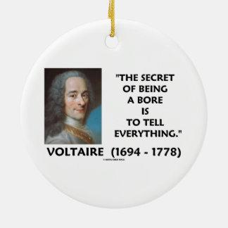 El secreto de ser un diámetro interior dice a todo ornaments para arbol de navidad