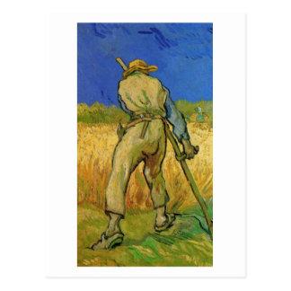 El segador (después de mijo), Vincent van Gogh Tarjetas Postales