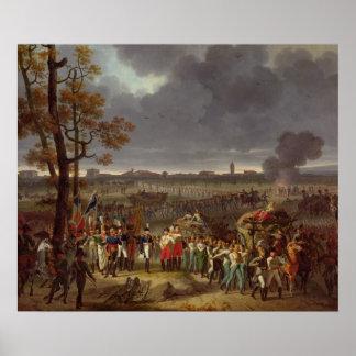 El segundo cerco de Mantua Posters