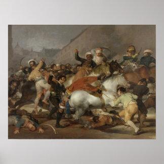 El segundo de mayo de 1808 o de la carga del Mamel Posters