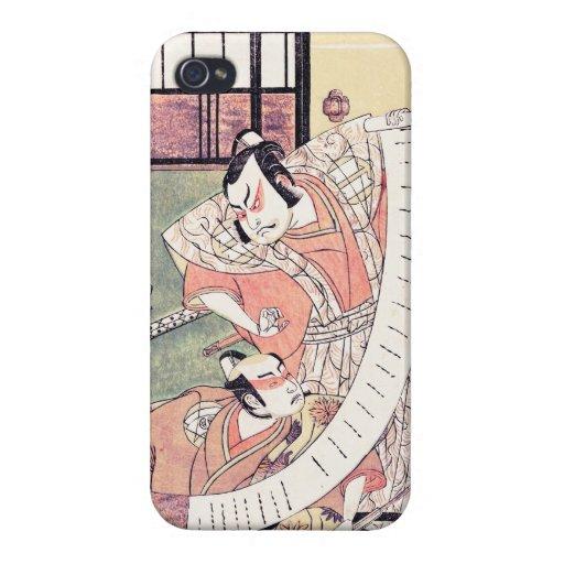 El segundo Sakata Hangoro como un Daimyo Attired iPhone 4 Protector