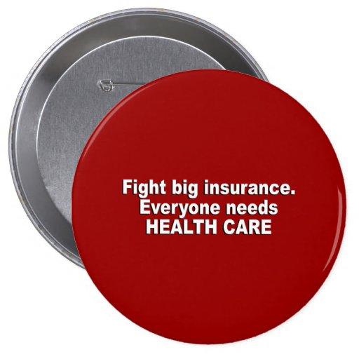 El seguro grande de la lucha, cada uno necesita at pin