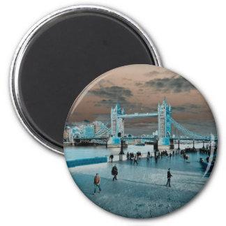 El selenio del sur del banco de Londres entonó ima Imán Redondo 5 Cm