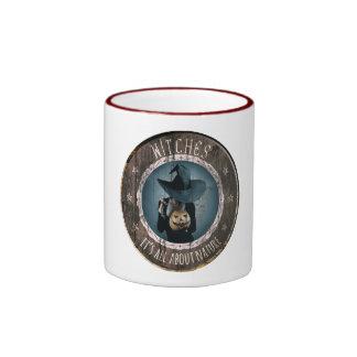 El sello de la bruja - taza sobrenatural