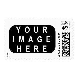El sello de la foto de DIY redondeado afila el