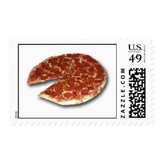 El sello de la pizza