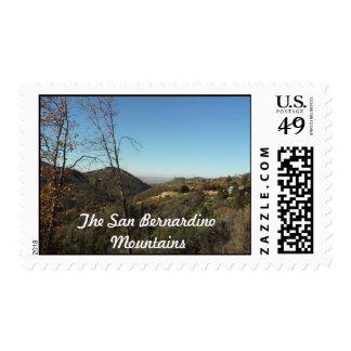 El sello de las montañas de San Bernardino